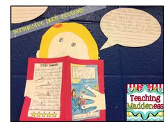 Cute idea for opinion writing about favorite books. Kids could also design menus and write about a favorite restaurant!