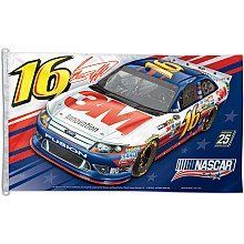 NASCAR Greg Biffle 3-by-5-Foot Flag by WinCraft. $34.53. Officially licensed 3' x 5' flag with attached D-rings. The imprint is 100-Percent show through to the backside with a long lasting color-fast die. Fly on a flagpole or hang it on a wall. Flags come poly-bagged with header and graphic displayed. Made in USA.