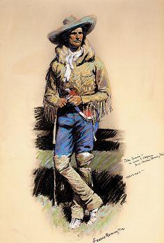 John Ermine by Frederic Remington