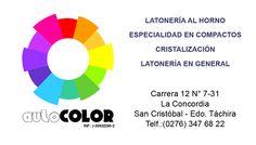 Logo y Tarjeta Presentación AutoColor !!