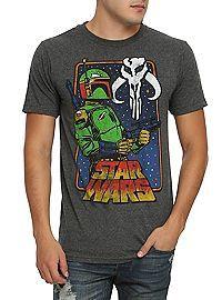 HOTTOPIC.COM - Star Wars Boba Fett Vintage T-Shirt