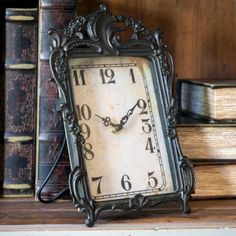 Clocks – Decor Objects :     Parlor Desk Clock    -Read More –   - #Clocks