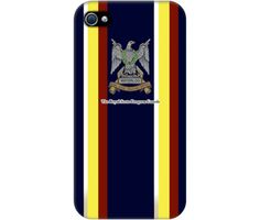 "Wrappz (iPhone 4 & 4S Case) - ""Armey Insignia Blue"" available on: http://simplecastle.com/product-details.asp?id=994"
