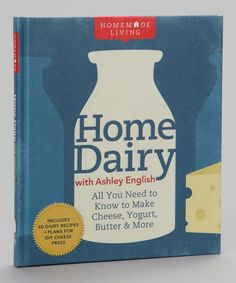 Take a look at this Homemade Living: Home Dairy with Ashley English Hardcover by Sterling on #zulily today!