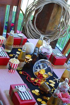 pirates table decor