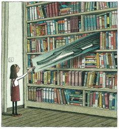 Uma maravilhosa ilustração de Franco Matticchio.