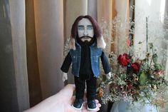 Jared Leto 30 Seconds to Mars Portrait doll personalized