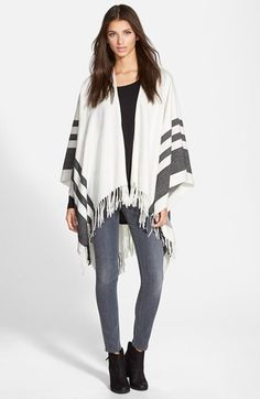 Hinge Hinge Stripe Cape available at #Nordstrom