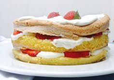 Jak upéct božskou manu - dva jahodové dorty, které vás donutí hřešit | DIY MINI PROJEKTY Bagel, Bread, Breakfast, Food, Morning Coffee, Breads, Bakeries, Meals, Morning Breakfast