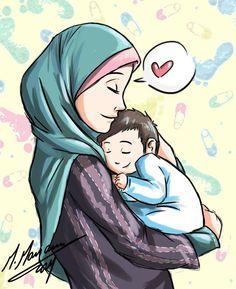 islamic anime mother