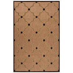 Add a pop of style to your foyer, sunroom, or patio with this versatile rug.  Product: RugConstruction Material: 100% OlefinColor: Tan and brownFeatures:  Machine-madeMade in TurkeySuitable for indoor or outdoor use Note: Please be aware that actual colors may vary from those shown on your screen. Accent rugs may also not show the entire pattern that the corresponding area rugs have.Cleaning and Care: Blot stains