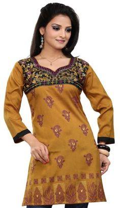 BESTSELLER! Long India Tunic Top Womens Kurti Pri... $23.99