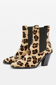 MORTY Leopard Print Ankle Boots - Heels - Shoes 257f227b0c16f
