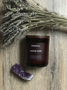 Handmade natural soy candle. #soycandles #soycandle #candles #etsy #candlesaesthetic Paraffin Candles, Soy Candles, Natural Candles, Handmade Candles, Burning Candle, Dog Tag Necklace, Lavender, Wax, Lovers