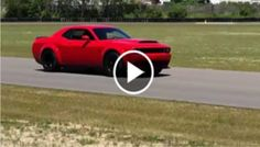 Hear the 2018 Dodge Challenger SRT Demon Under Full Throttle - Blooper News - News by you for you!™