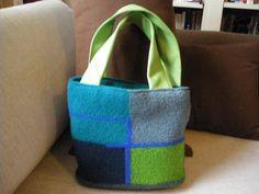 Aqua blue and green