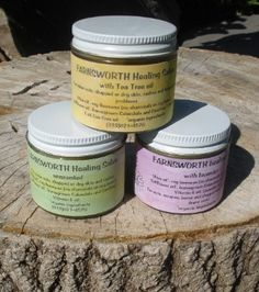 Inkinbloom - Salve and Lip Balm  Farnsworth salves - made in Detroit