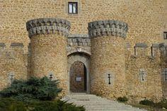 Entrada al Castillo de Manzanares el Real, Madrid