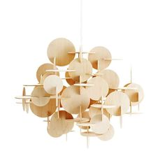 Bau Lampe Stor, Natur - Normann Copenhagen @ RoyalDesign.no 1.900,-