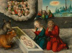 Lucas Cranach - Adoration of Christ. Koller Auktionen AG in Zürich