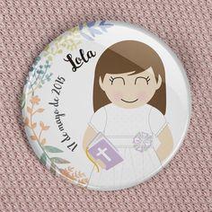 Chapa personalizada regalo de comunión | Miniyó & Yo