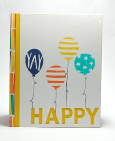 Balloon Bash! by marmie43gs - Cards and Paper Crafts at Splitcoaststampers