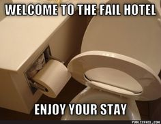 Welcome To The Fail Hotel