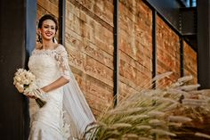 Beautiful bride at Encuentro Guadalupe. Ensenada, Mexico