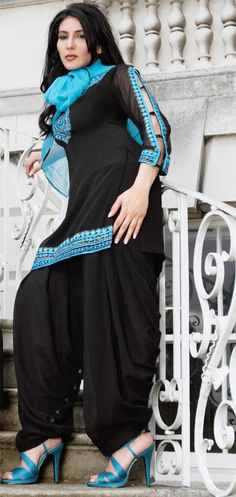 Patiala salwar with nice detail