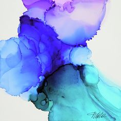 Alcohol ink, Tracy Male