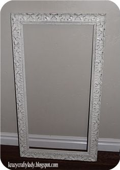 antiquing picture frames