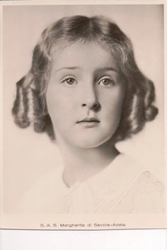 """Princess Margherita of Savoy, by marriage an Archduchess of Austria Este, was born in 1930 to Prince Amadeo of Savoy and his Princess, Anne of Orleans.  Margherita grew up speaking several languages.  Her father was 6'6"""" tall and Princess Margherita grew to six feet herself.  At age 23 Princess Margherita married Archduke Robert of Austria Este, a son of Emperor Karl I and Empress Zita.  Robert and Margherita had five children."""