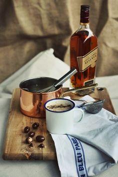 Warm Coconut Milk with Almonds, Maca & Honey #recipe