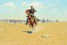 Frederic Remington - Artist, Fine Art, Auction Records, Prices, Biography for Frederic Sackrider Remington American Indian Wars, American Indian Tattoos, Native American Art, American History, Westerns, Norman Rockwell Paintings, Frederic Remington, Man Cave Art, West Art