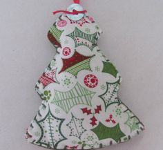 Fabric Christmas Tree by GTcottagecrafts on Etsy