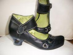 Tiggers ,Gr.36, fantastische Schuhe , Pumps,Schwarz Leder in Kleidung & Accessoires, Damenschuhe, Pumps   eBay