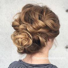 twist-braid with bun
