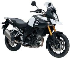 My boyfriend's new love> Suzuki V-Strom 1000 ABS