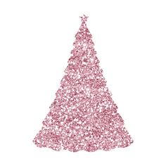 daniellesdesigns_dreamingofapinkchristmas_element24.png ❤ liked on Polyvore featuring christmas, christmas trees, backgrounds, natal and sparkle