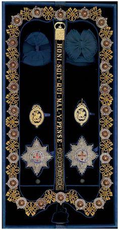 Garter insignia of Emperor Napoleon III, invested 18 April 1855.