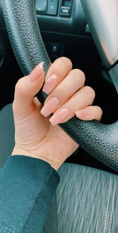 Summer Acrylic Nails, Best Acrylic Nails, Summer Nails, Acrylic Nail Shapes, Simple Acrylic Nails, Natural Looking Acrylic Nails, Short Square Acrylic Nails, Christmas Acrylic Nails, Acrylic Nail Designs For Summer