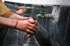Everyone in the world needs access to clean water.  This is a basic human right.  Hand washing is critical to good health.