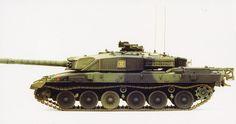 Challenger 1 Mk. 3 1/35 Scale Model