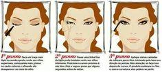 Truque de maquiagem