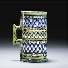 An Iznik Polychrome Tankard, Turkey, <P>Circa 1600</P> | Lot | Sotheby's