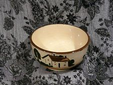 """Motto Ware Watcombe Porridge Bowl """"A Thing Of Beauty is a Joy For ever"""" Stamped"""