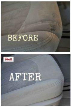 Clean your car's interior.