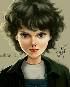 Imagen de curly hair, eleven, and