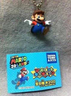 "Japan Gashapon ""Super Mario 3D Land"" Mario Mini Figure - SMALL MARIO"