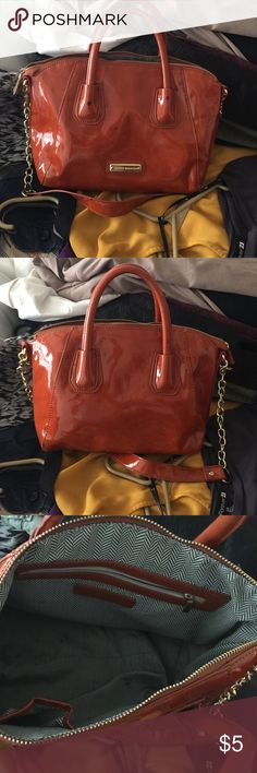 Patent Leather Steve Madden Purse Clearing closest - all items available until September 15th. Steve Madden Bags Satchels